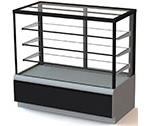 Холодильная кондитерская витрина Carboma ВХСв - 1,3д Cube Люкс (техно)