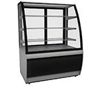 Холодильная кондитерская витрина Carboma ВХСв - 0,9д Люкс (техно)